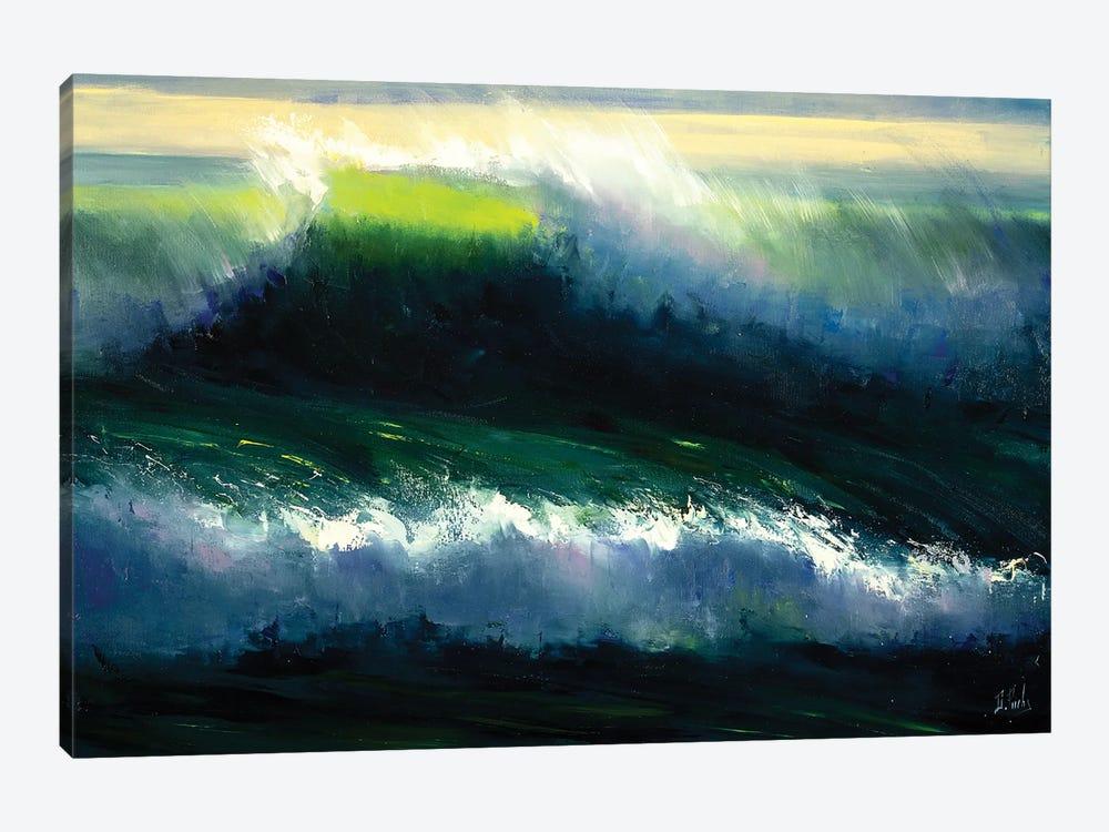The Wind by Bozhena Fuchs 1-piece Canvas Artwork