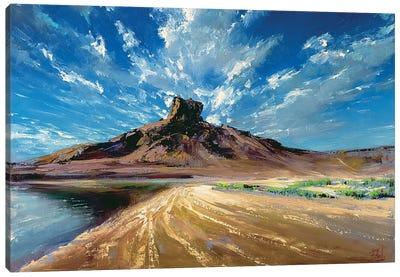 Under The Sky Canvas Art Print