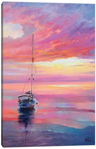 Colorful Seascape Canvas Art Print
