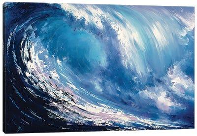 Wave Canvas Art Print