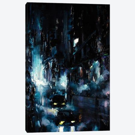City Streetscape Canvas Print #BZH29} by Bozhena Fuchs Canvas Wall Art