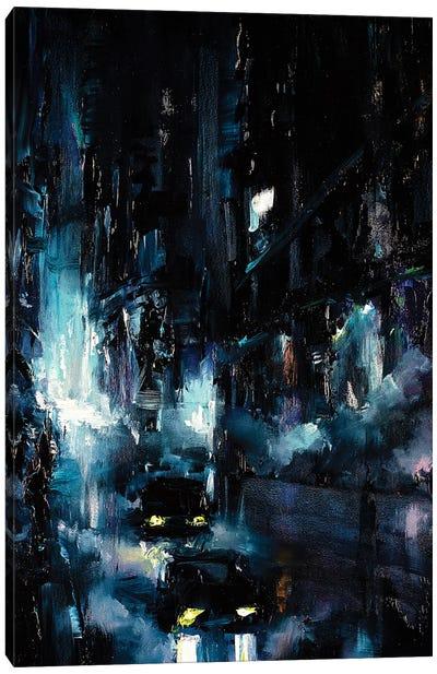 City Streetscape Canvas Art Print
