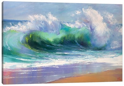 Morning Wave Canvas Art Print
