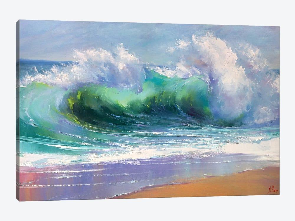 Morning Wave by Bozhena Fuchs 1-piece Canvas Wall Art