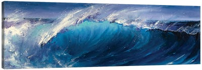 Night Wave Canvas Art Print