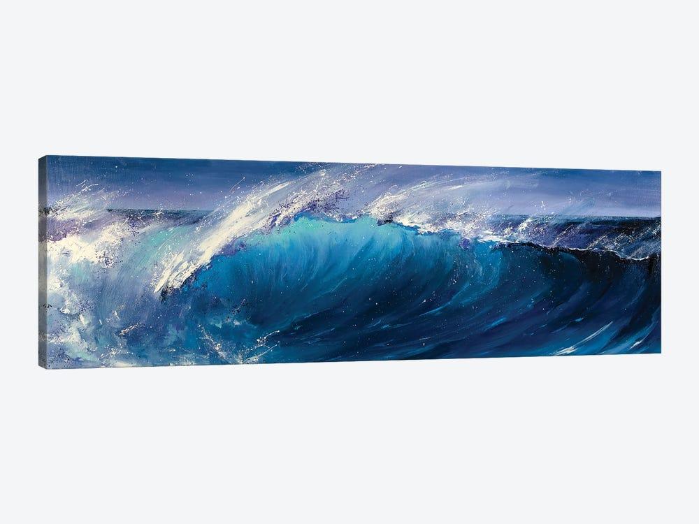 Night Wave by Bozhena Fuchs 1-piece Canvas Artwork