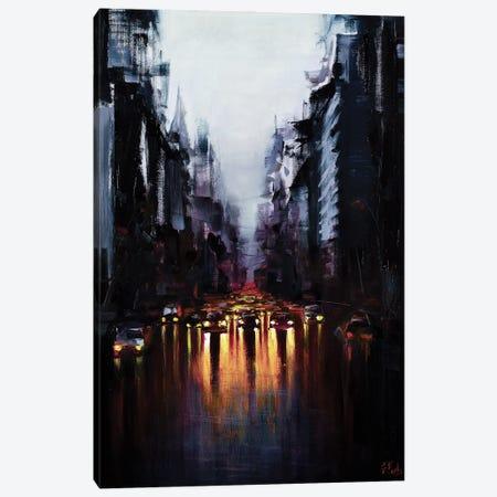 After Morning Rain Canvas Print #BZH50} by Bozhena Fuchs Art Print