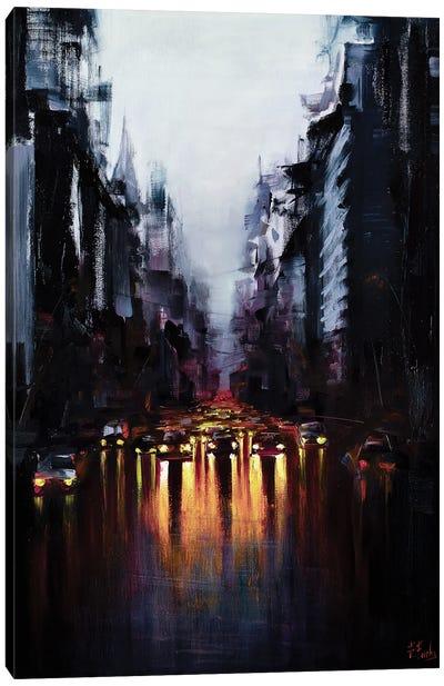 After Morning Rain Canvas Art Print