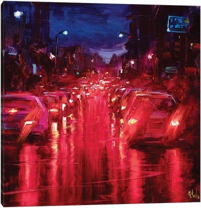 Red Lights Canvas Art Print