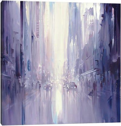 City Morning Light Canvas Art Print