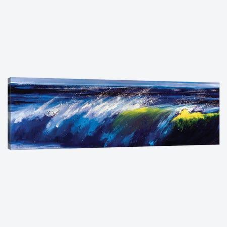 Ocean Wave Canvas Print #BZH57} by Bozhena Fuchs Canvas Art