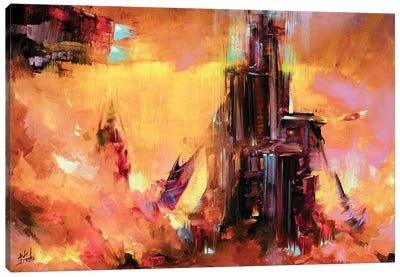 Sci Fi Painting Canvas Art Print
