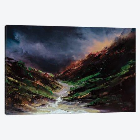 Through The Fog Canvas Print #BZH64} by Bozhena Fuchs Canvas Print