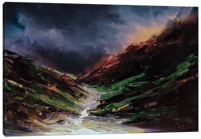 Through The Fog Canvas Art Print