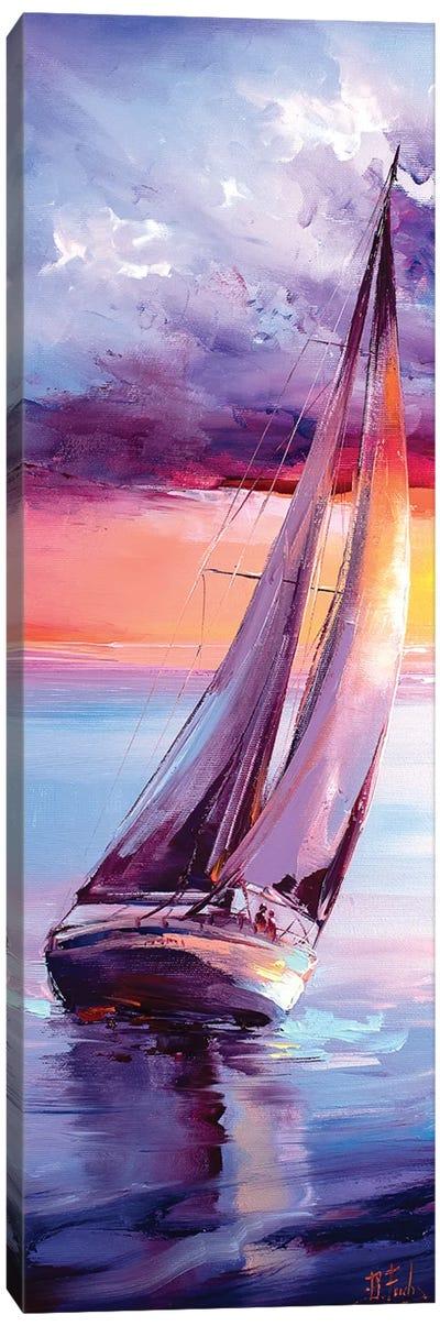 Sailing Painting Canvas Art Print