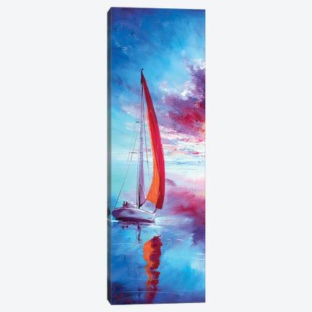 Red Sails Canvas Print #BZH68} by Bozhena Fuchs Canvas Wall Art