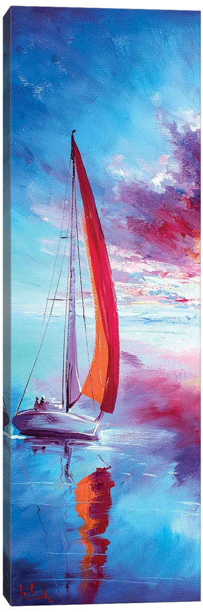 Red Sails Canvas Art Print