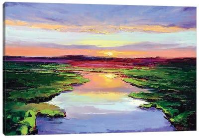Morning Colors Canvas Art Print