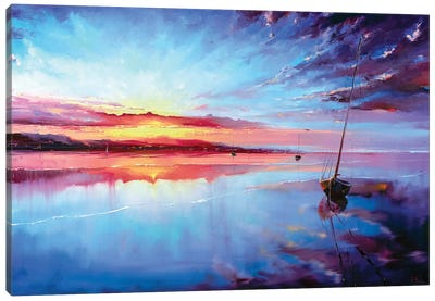 The Start Of A New Day Canvas Art Print