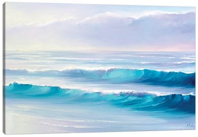 The Sound Of The Waves Canvas Art Print