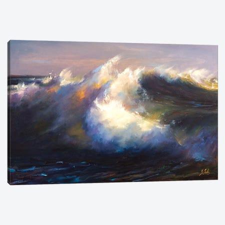 Storm Canvas Print #BZH9} by Bozhena Fuchs Canvas Artwork