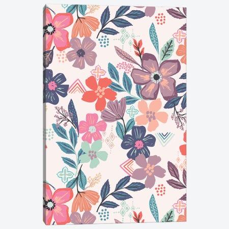 Flower Hour I Canvas Print #CAA100} by Caroline Alfreds Canvas Art Print