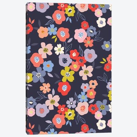 Bright Blossom II Canvas Print #CAA106} by Caroline Alfreds Canvas Art