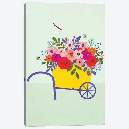 Garden Canvas Print #CAA115} by Caroline Alfreds Canvas Art Print