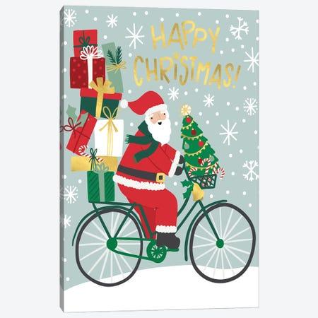 Santas Ride Canvas Print #CAA14} by Caroline Alfreds Canvas Print