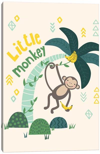 Little Monkey II Canvas Art Print