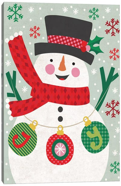 Christmas Joy I Canvas Art Print