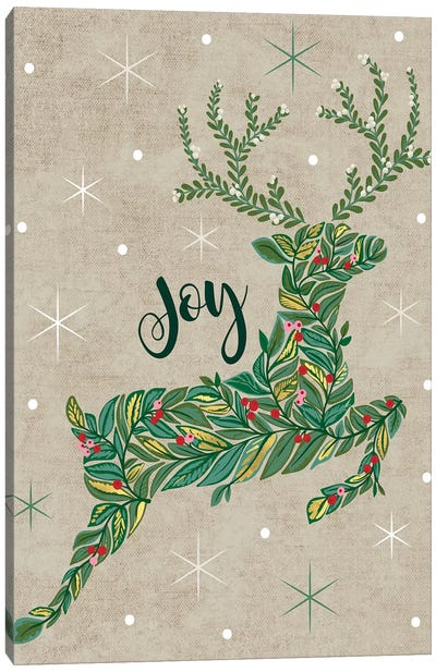 Christmas Deck The Halls I Canvas Art Print