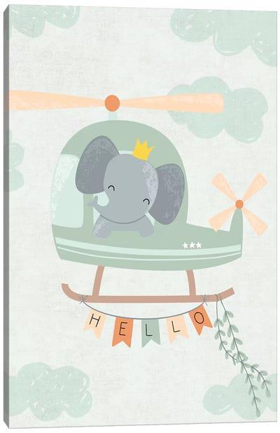 Baby Adventure Awaits I Canvas Art Print