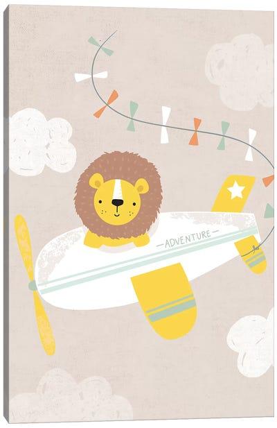 Baby Adventure Awaits II Canvas Art Print