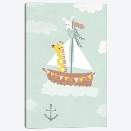 Baby Adventure Awaits III Canvas Print #CAA49} by Caroline Alfreds Canvas Print