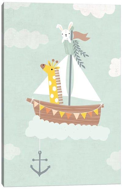 Baby Adventure Awaits III Canvas Art Print