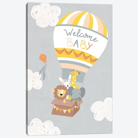 Baby Adventure Awaits IV Canvas Print #CAA50} by Caroline Alfreds Canvas Artwork