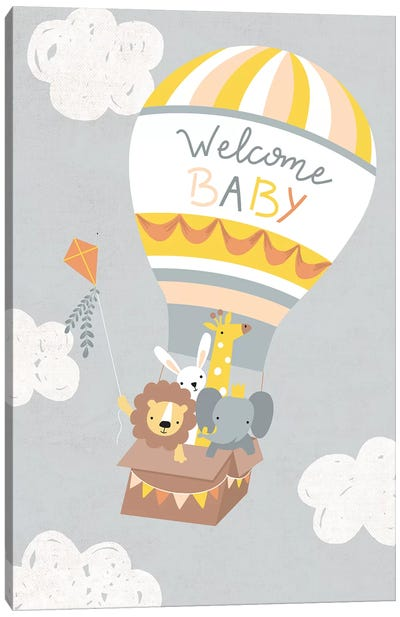 Baby Adventure Awaits IV Canvas Art Print