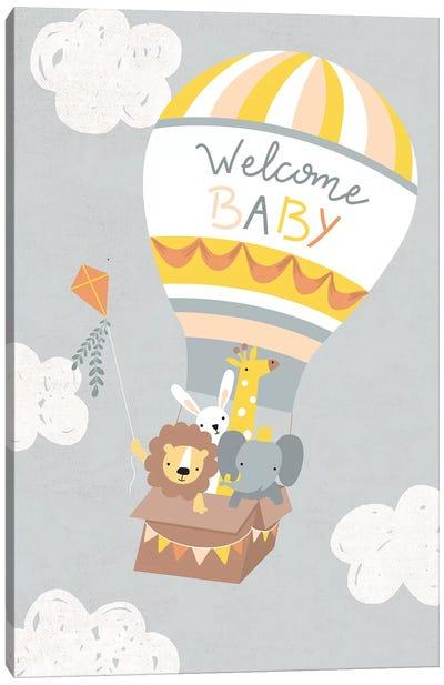 Baby Adventure Awaits IV Canvas Art Print