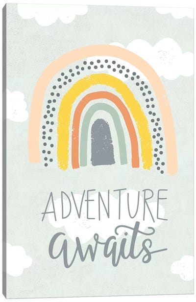 Baby Adventure Awaits X Canvas Art Print