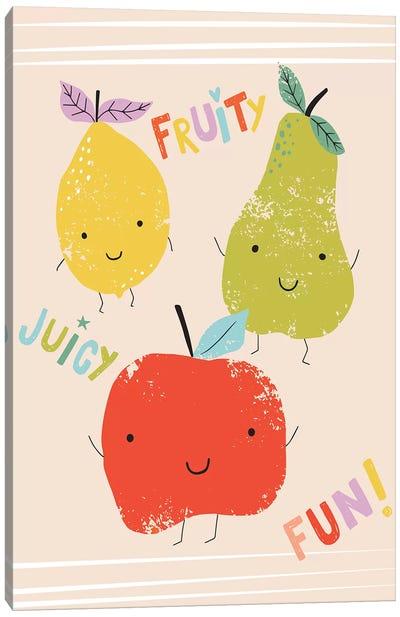 Fruity Fun I Canvas Art Print