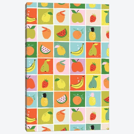 Fruity Fun IV Canvas Print #CAA65} by Caroline Alfreds Canvas Artwork