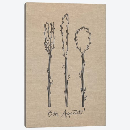 Bon Appetit I Canvas Print #CAA67} by Caroline Alfreds Canvas Art