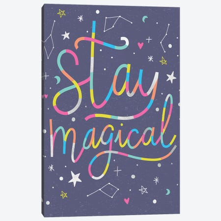 Make Magic II Canvas Print #CAA74} by Caroline Alfreds Art Print