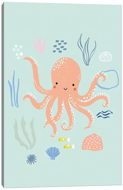 Under The Sea I Canvas Art Print