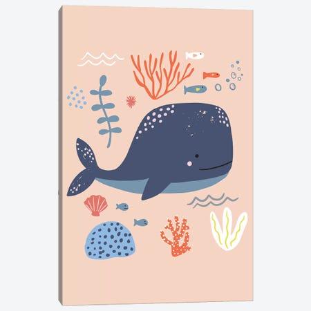 Under The Sea III Canvas Print #CAA89} by Caroline Alfreds Canvas Print