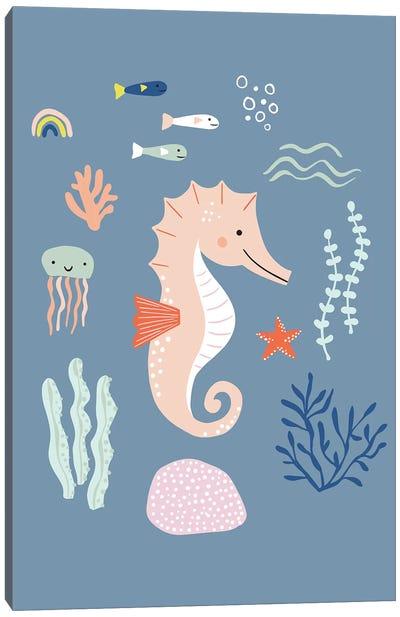 Under The Sea IV Canvas Art Print