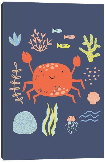 Under The Sea V Canvas Art Print