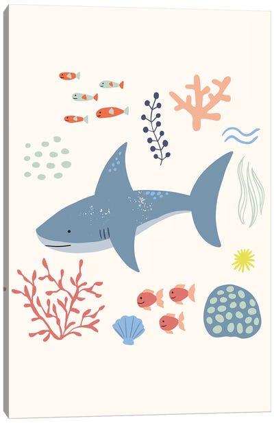 Under The Sea VI Canvas Art Print
