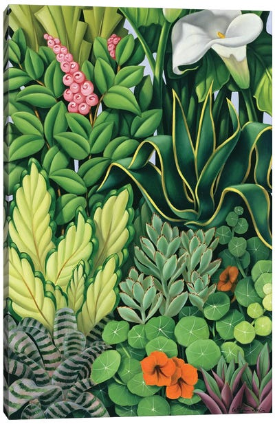 Foliage I Canvas Art Print